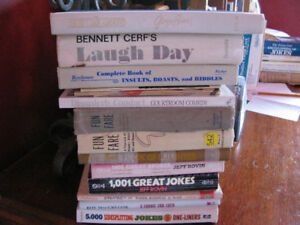 Variety of JOKE Books