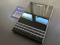 Brand new unlocked sim free Blackberry Passport sealed box with full new accessories in stock