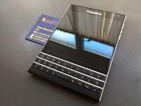 Brand new unlocked sim free Blackberry Passport sealed box with full new accessories in stock