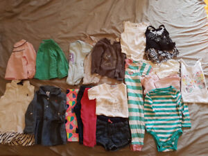 Baby girl clothes 12-18 and 18 months