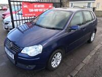 2007 (57) VW POLO, 1 YEAR MOT, WARRANTY, NOT CORSA CLIO PUNTO AYGO MICRA ASTRA