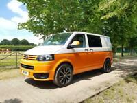 2011 Volkswagen Transporter 2.0 TDI 102PS CAMPER / DAY VAN NO VAT TWO TONE PANEL