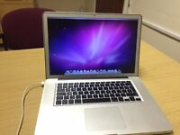 Macbook Pro 15inch i7 2.66 GHZ Mid 2010 with windows 7