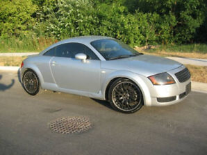 Audi TT - S-Line - Quattro AWD - 5 SPD -Turbocharged - Loaded