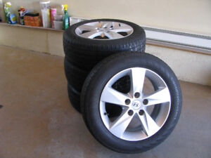 Mags et pneus 205 55 R16