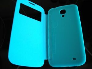 New Blue Flip Case For Samsung S4 phone Regina Regina Area image 1