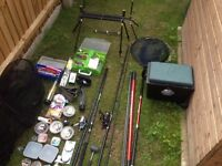 Fishing gear job lot or swap for Xbox one