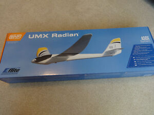 UMX RADIAN POWERED GLIDER RC PLANE