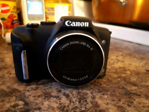 Canon Power Shot SX170 IS 64 gig micro SD & adapter