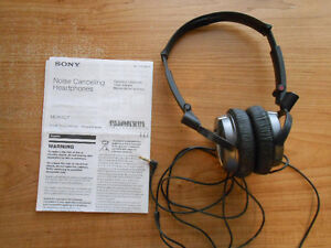 Sony noise canceling headerphone