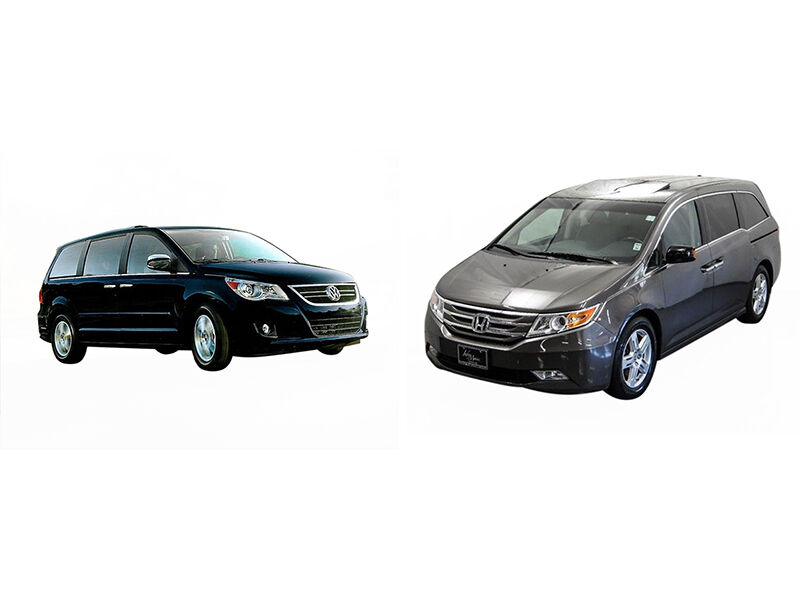 vw routan vs honda odyssey ebay. Black Bedroom Furniture Sets. Home Design Ideas