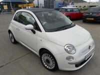 Fiat 500 Lounge 3dr Finance Available PETROL MANUAL 2011/11