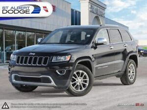 2014 Jeep Grand Cherokee Limited  HEATED LEATHER| SUNROOF| CAM