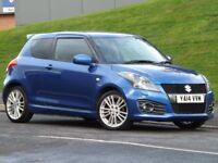 Suzuki Swift 1.6 SPORT (blue) 2014