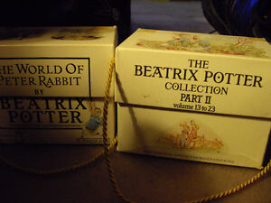 The Beatrix Potter Collection Part I & II Volumes 1-12 and 13-23
