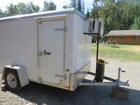 6'x10'x7.5' Refrigerated 'cooler' trailer Wells Cargo insullated