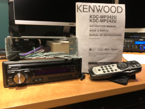 Car Radio d'auto Kenwood KDC-MP342U Tuner CD/MP3