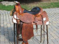 Charlie Baker show saddle