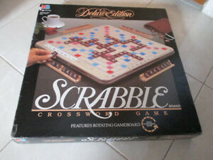 Scrabble Deluxe Buy New Used Goods Near You Find Everything