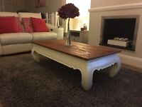 Coffee Table VSolid (Furniture/Bespoke/Shabby Chic/ Farmhouse)