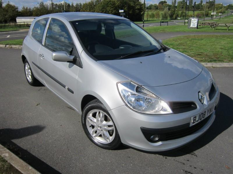 2008 renault clio expression turbo 100 petrol 3 door. Black Bedroom Furniture Sets. Home Design Ideas