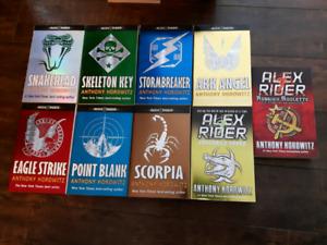 9 books by anthony horowitz