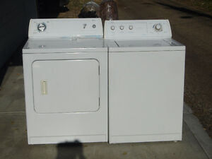 Whirlpool washer and dryer $199, GE dryer $99 Can deliver.