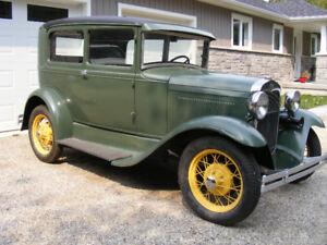 1930 Ford Model 'A' Tudor