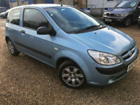 2007 '07' Hyundai Getz 1.1 GSi. Petrol. Manual. 3 Door Family Runaround. Px Swap