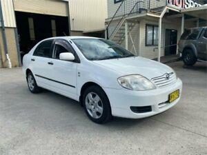 2006 Toyota Corolla ZZE122R 5Y Ascent White 4 Speed Automatic Sedan Greystanes Parramatta Area Preview