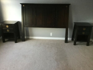 Bed frame kijiji in calgary buy sell save with canadas 1 mahogany bedroom furniture from pier 1 headboard night tables solutioingenieria Images