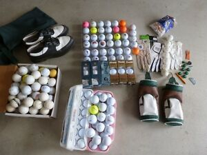 Golf bals and others items