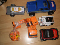 Lot of Tonka vehicles and other