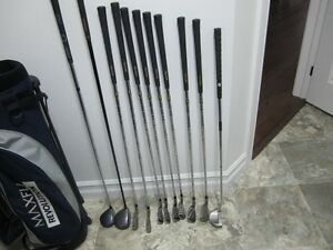Like New 11 Piece Set of Right Handed Golf Clubs For Sale