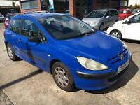 Peugeot 307 1.4HDi 2001 Style SOLD