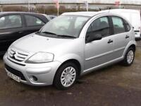 Citroen C3 1.4i Desire, Silver, 5 Door Hatchback, 1 Years Mot