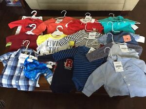 Baby boys clothing and bottles (some baby girl items too!)