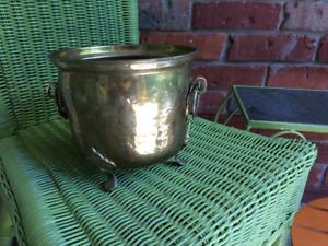 Brass Pot. $5.00