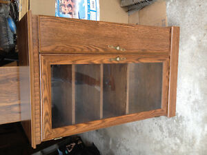 Electronics/TV cabinet with CD holder