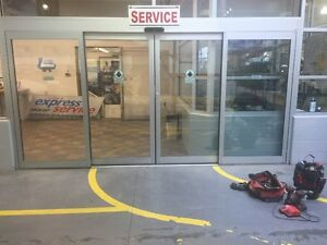 Horizontal Bi-Parting Automatic Sliding Doors