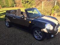 Mini Mini 1.6 ( 120bhp ) Cooper BLACK CONVERTIBLE 1 owner from new