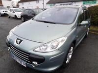 Peugeot 307 SW 1.6 16v (110bhp) Tiptronic 2007 SE, LOW MILEAGE, GOOD CONDITION.