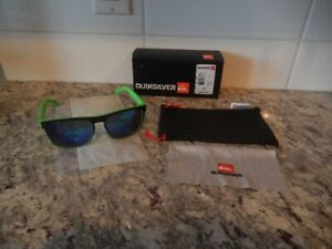 "*New never worn* Quicksilver Sunglasses ""The Ferris"" Green"