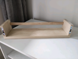 Two IKEA spices shelves