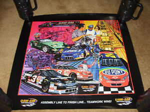 4 NASCAR Team Chevrolet Sam Bass Prints London Ontario image 3