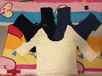 3 Brand new M-size Hollister tops