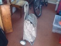 Shopping trolley good condition