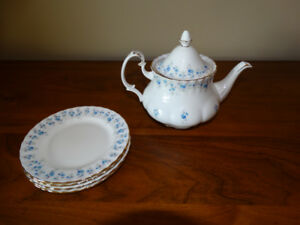 Royal Albert Memory Lane Teapot Set & Extras available
