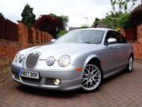 2007 Jaguar S-TYPE 2.7D V6 auto SPORT..FULL XS BODYKIT..FULL SERVICE HISTORY !!