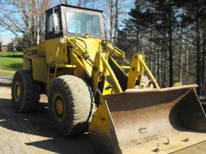 1976 Case 76B 4 Wheel Payloader